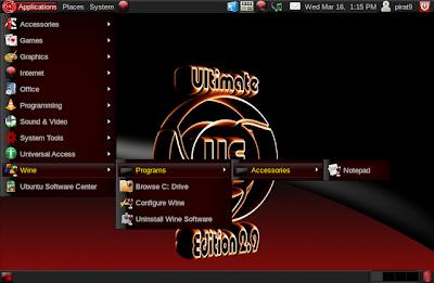 Ubuntu Ultimate Edition 2.9
