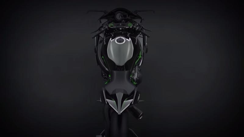 Inilah sosok Kawasaki Ninja H2 yang sebenarnya . . . !