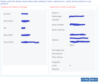 Step7: Apply for Fresh Passport\Re-issue Passport Online