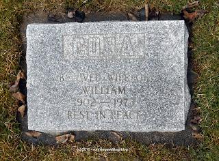 Cora Gagnon Holden gravemarker