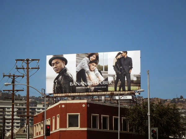 Banana Republic Fall 2014 billboard
