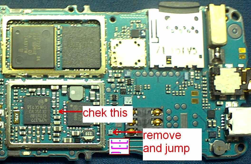 Nokia 3110C Sim Ic Jumper