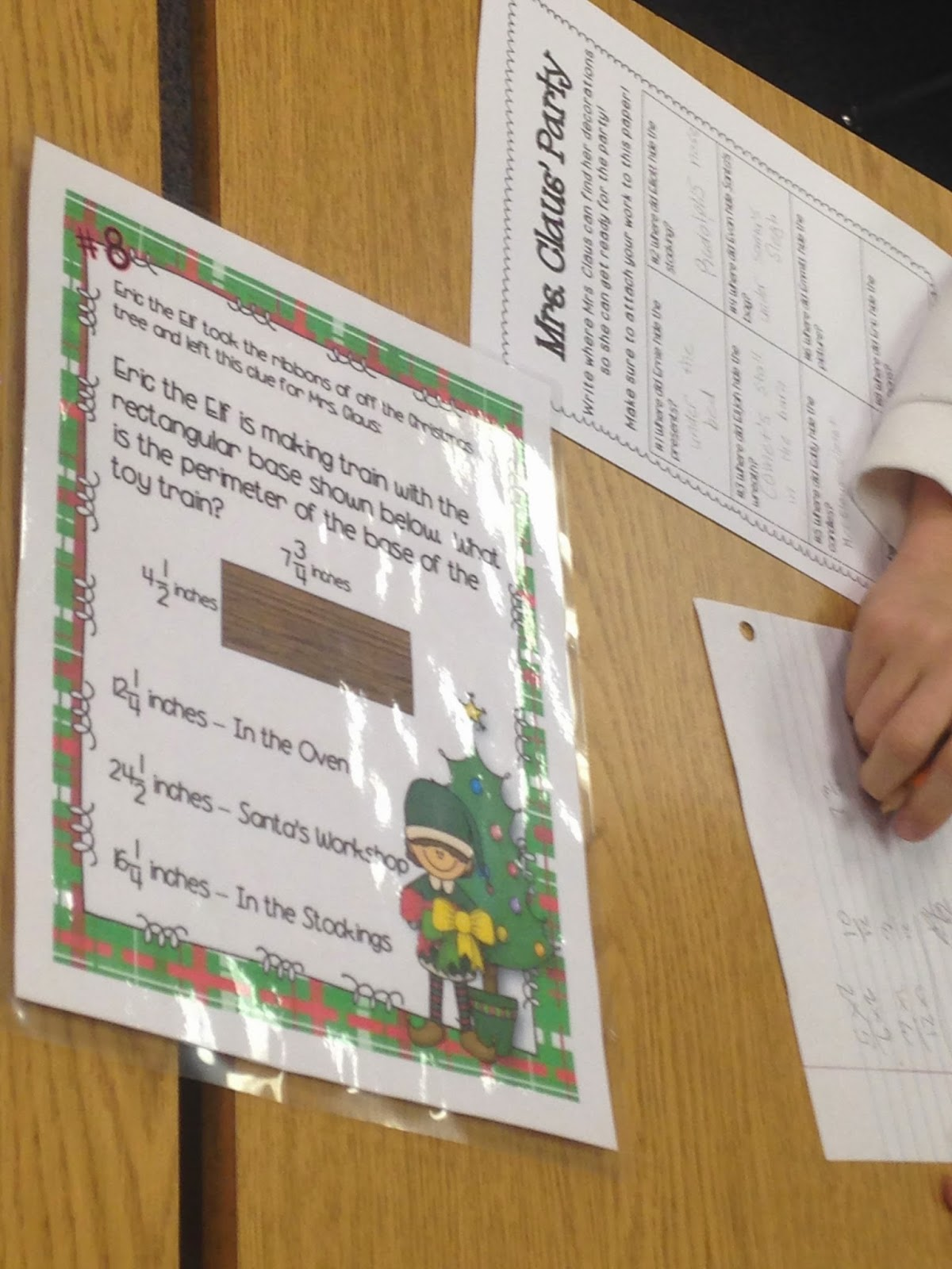 Where Ms. Green's Math Grows!: Deck the Classroom!