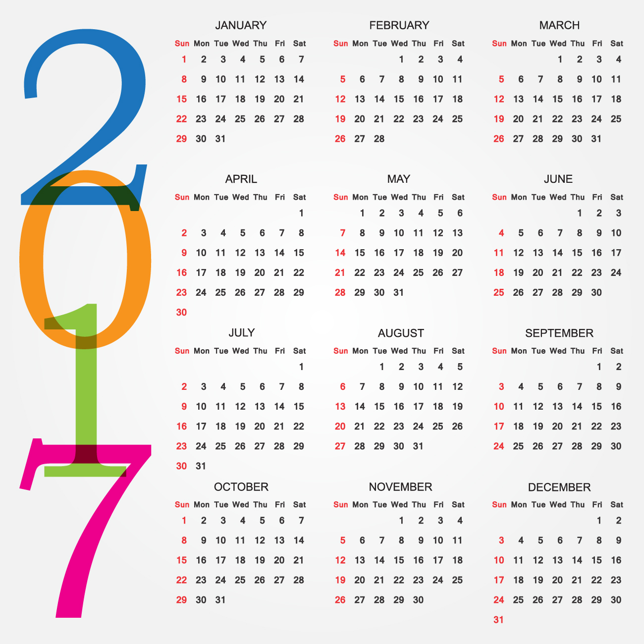 Calendar Design With Pictures : Printable calendar designs calendars