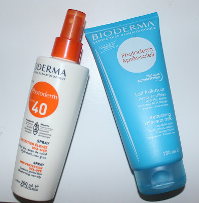 Bioderma Photoderm Spray SPF 40 & Refreshing After-Sun Milk