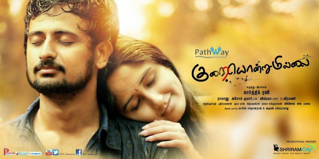 Watch Kurai Ondrum Illai(2014) Tamil DVDScr Full Movie