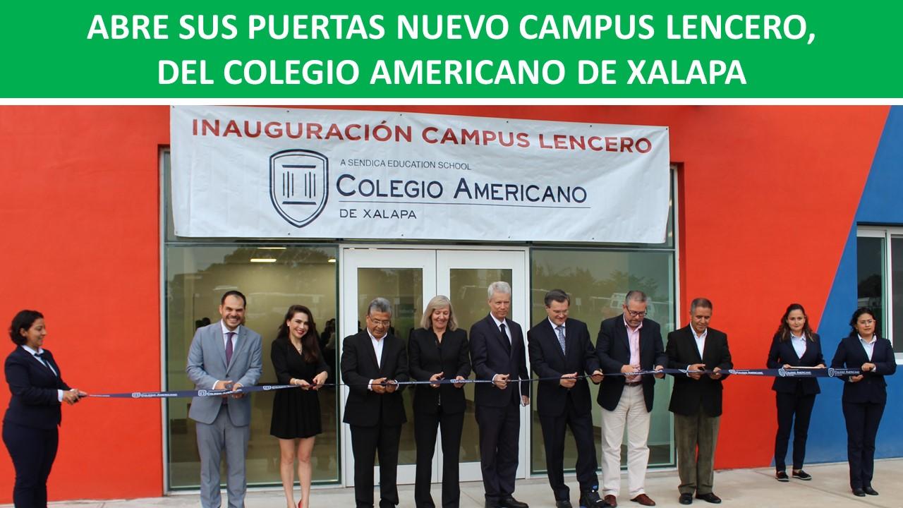 DEL COLEGIO AMERICANO DE XALAPA