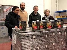 Premi Solidari Gallina Blanca BC2017 Marrecs de Salt al Centre de Distribució d'Aliments de Salt