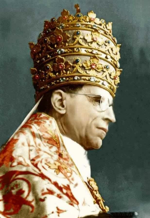 O venerável Papa Pio XII