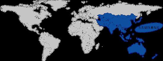 Phablet Traffic by Region