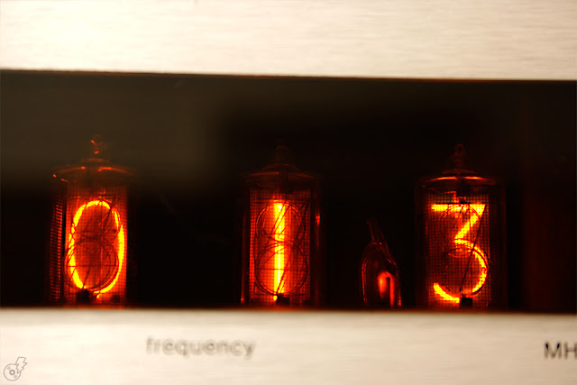 Who Could Ever Mistake The Seductively Bright Orange Display Of A Nixie Tube Right