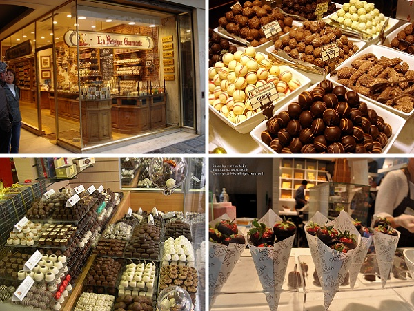 Top 10 Bruxelas: (10) Tour de Chocolate