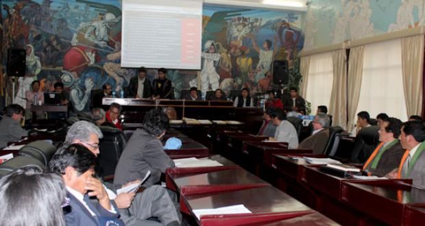 Eleccionres rectorales UMSA 2013