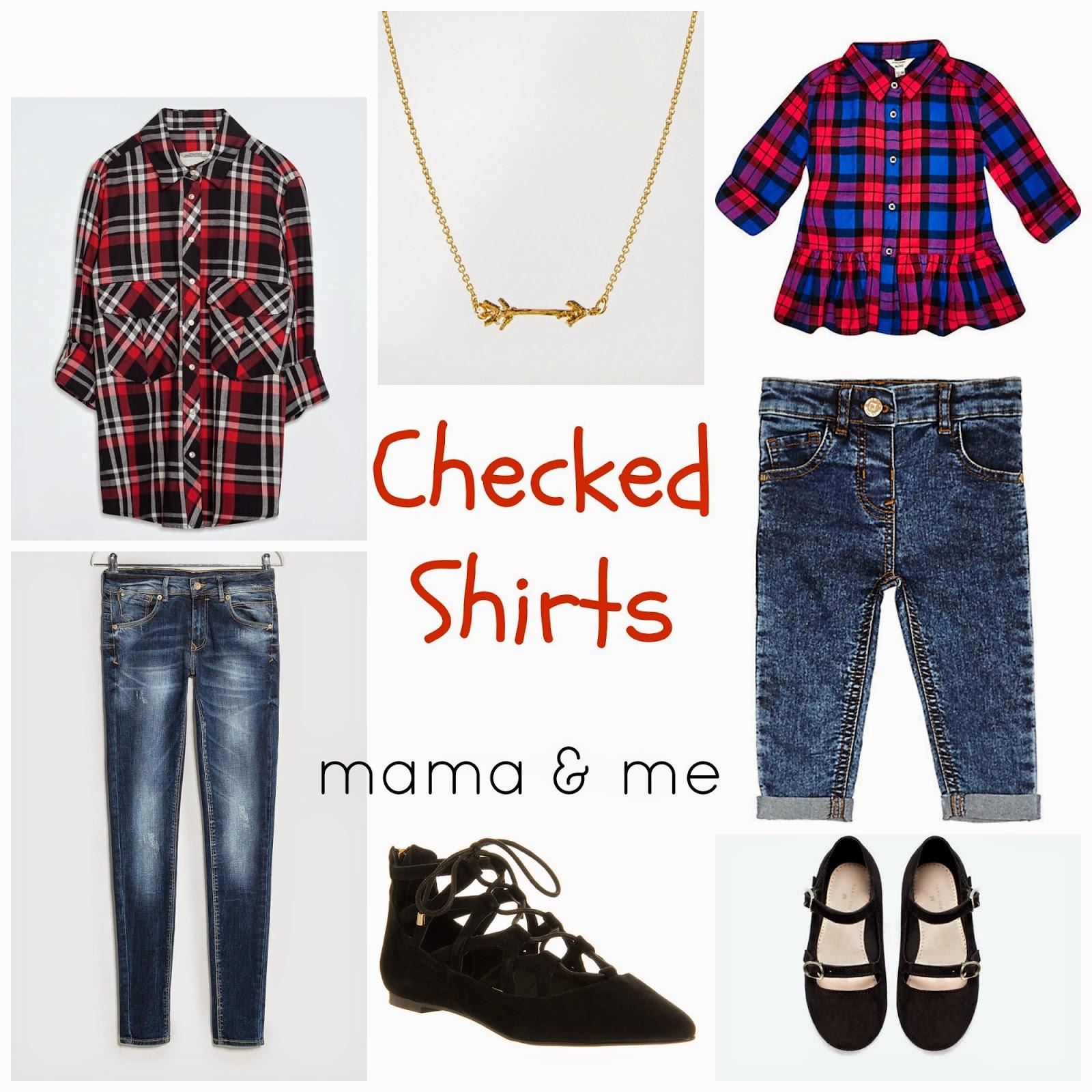The 3 must-have tops for easy - and stylish Mama & Me days | mama and me style | mama fashion | urls fashion | river island mini | mango | zara | jewelled sweaters | checked shirt | zara | easy chic | school run style | leather leggings | zara mini | marks & Spencer | gap | cable cardigan | style | mamasVIB | fashion editor picks | stylish mums | mum and mini style | office | house of fraser | amma and girl style | mamas vin | blog | fashion | news | fashion trends | mamasVIB