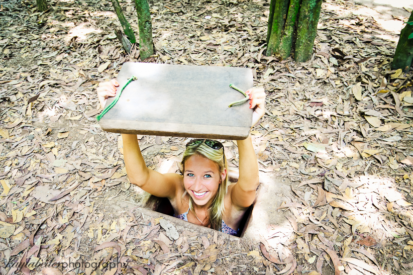 cu chi tunnels photo