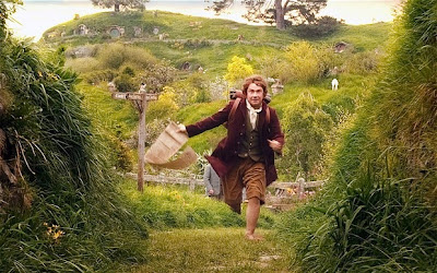 Bilbo Hobbit running