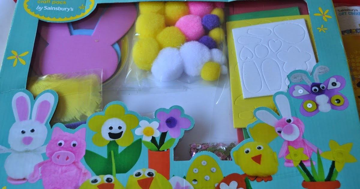 Life through my eyes sainsburys easter activities and gifts negle Choice Image