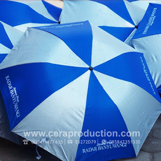 Contoh Corporate gift Payung Promosi Radar Banyuwangi