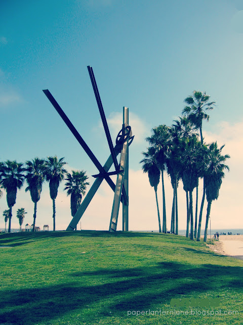 Venice Beach-- Sculpture