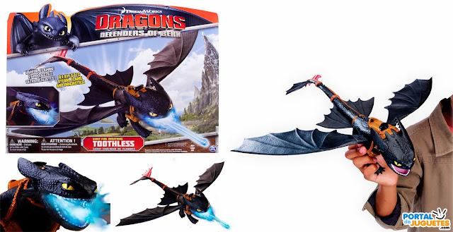 lanzallamas desdentado dragones berk como entrenar a tu dragon 2 caja
