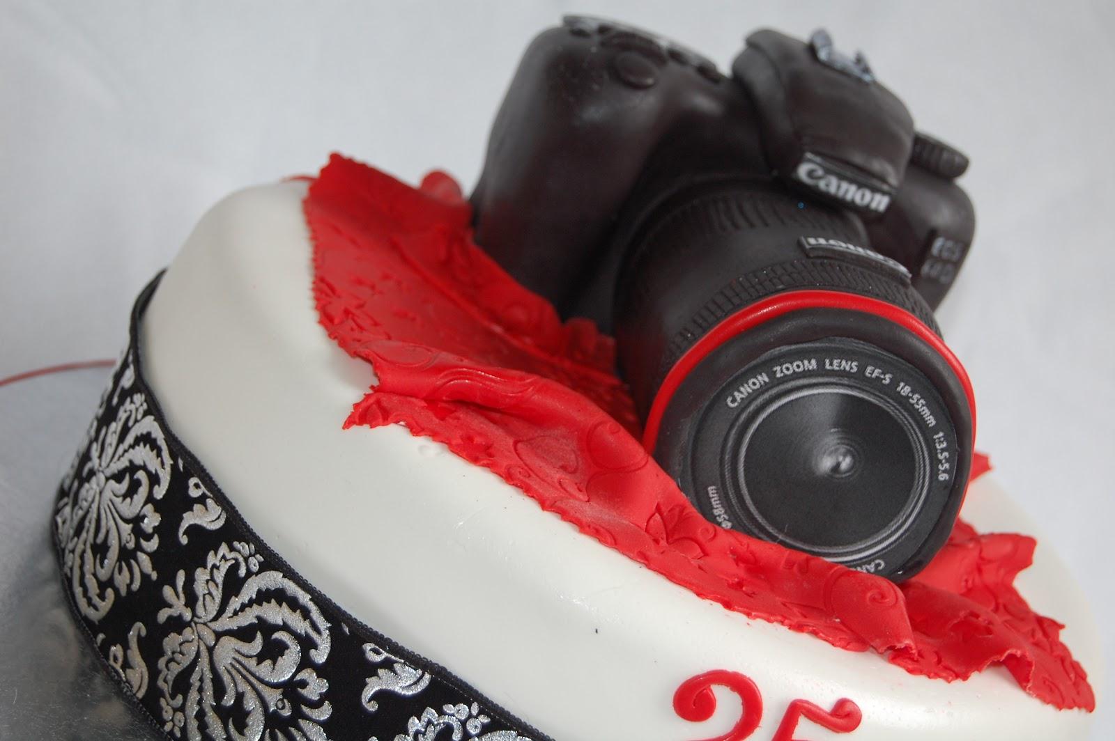 Как сделать торт в виде фотоаппарата