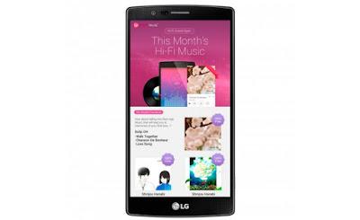 Smartphone LG sở hữu kho nhạc Hi-Fi hấp dẫn