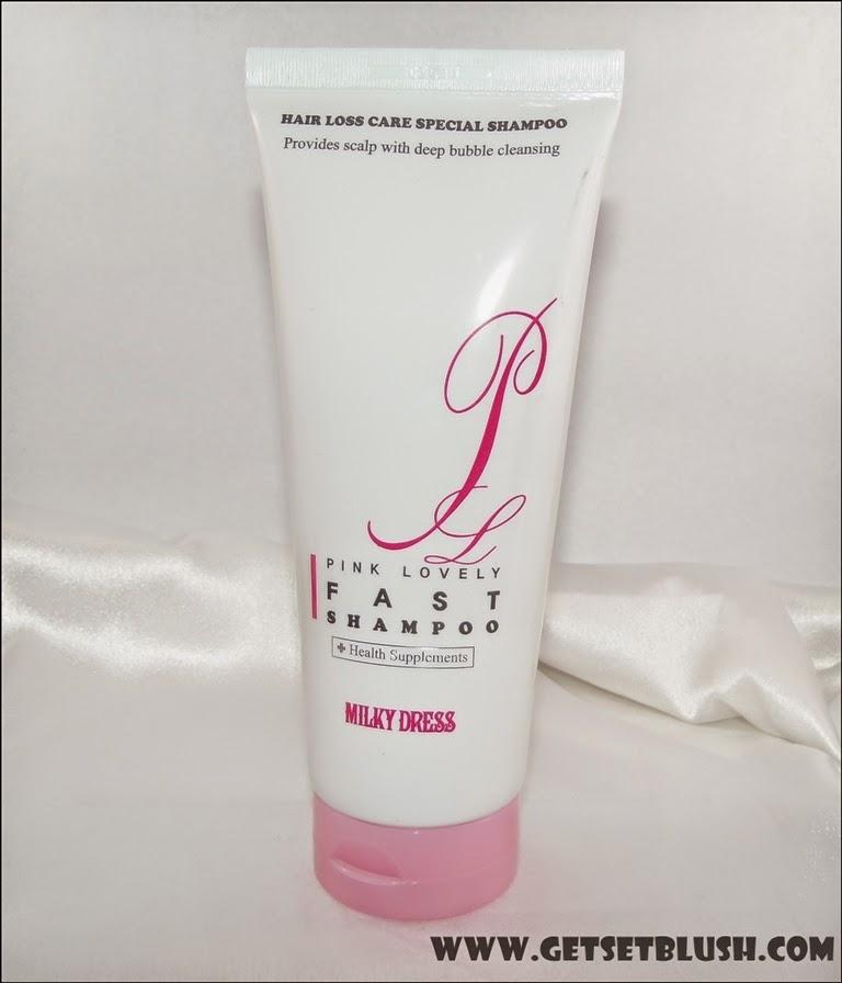 MILKY DRESS Pink Lovely Fast Shampoo