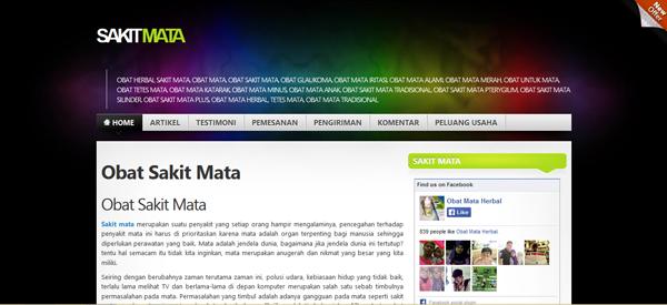 Sakitmata.com Jual Obat Sakit Mata Terpercaya