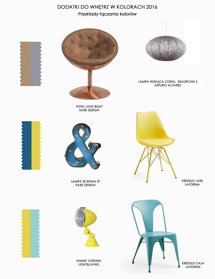 Dacon-Design-architekt-trendy-2016-dodatki-kolory-Pantone-lampa-krzeslo