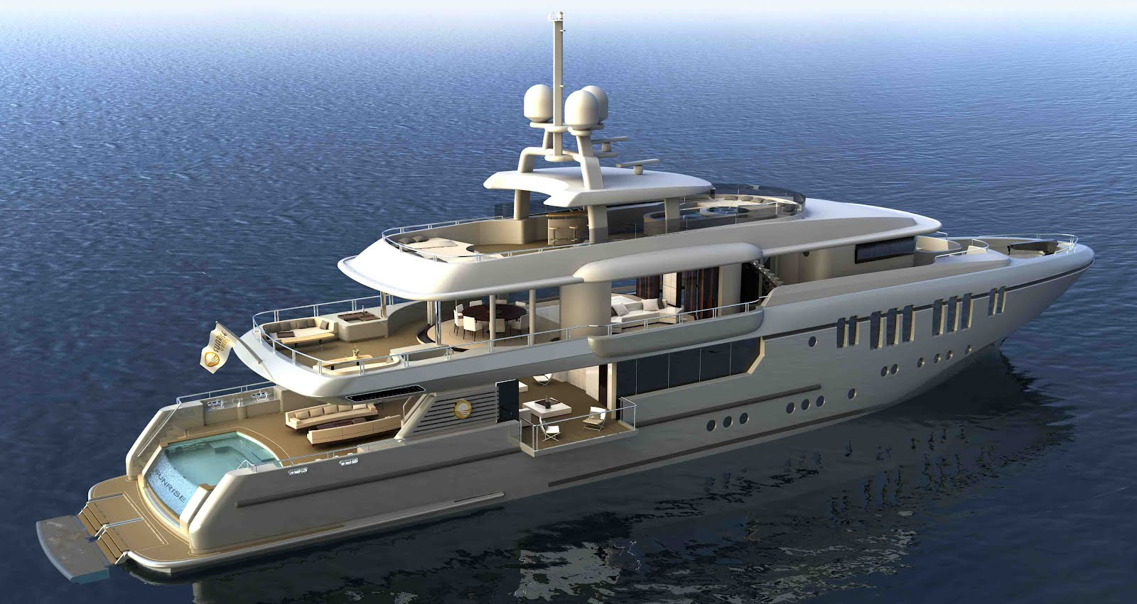 Megayacht Global: Sunrise Yachts New 50m 'Bringing The ...