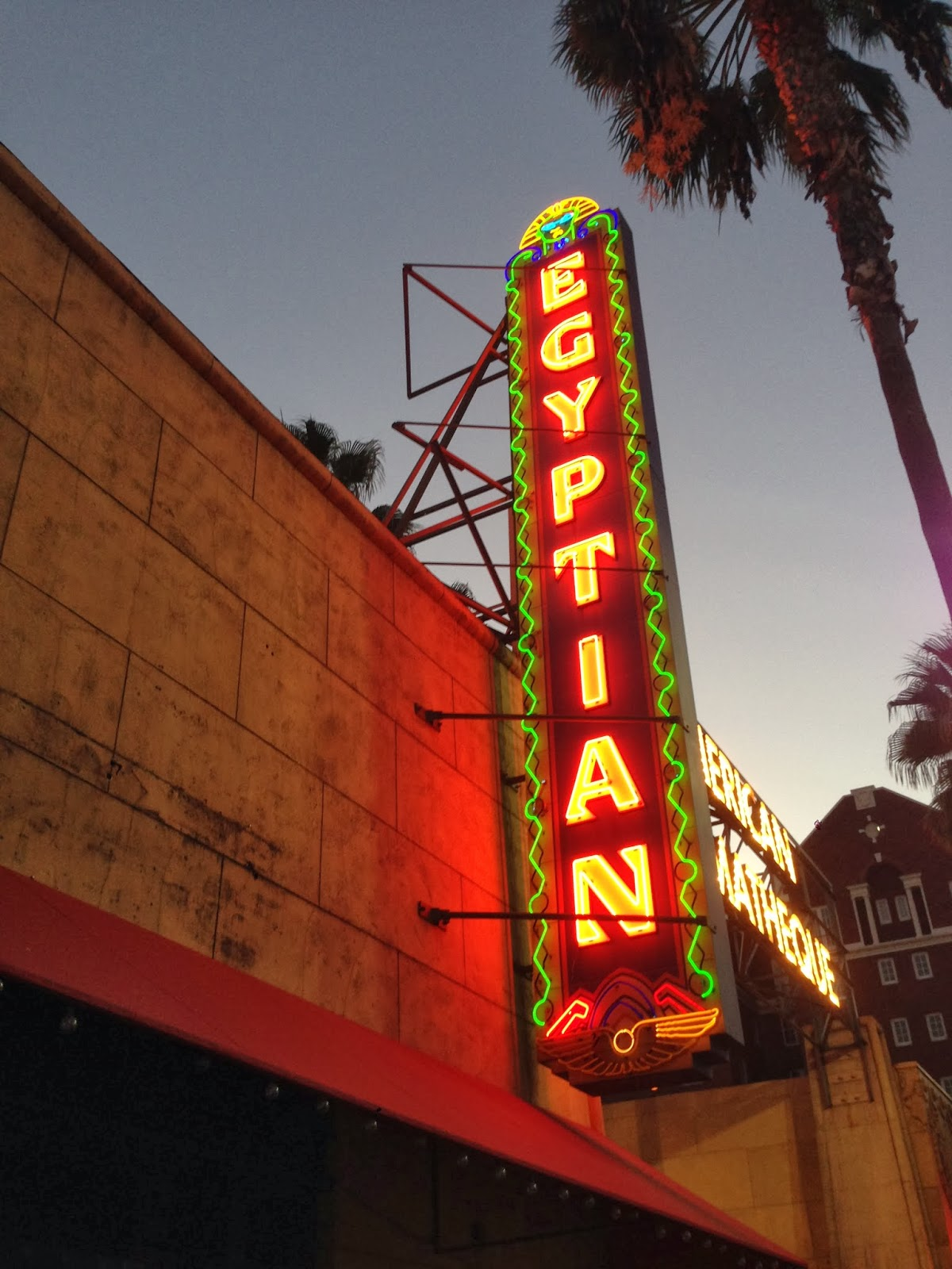 The Egyptian Theatre on Hollywood Blvd.