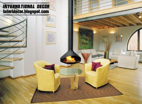 modern fireplace design to save space, fireplace designs