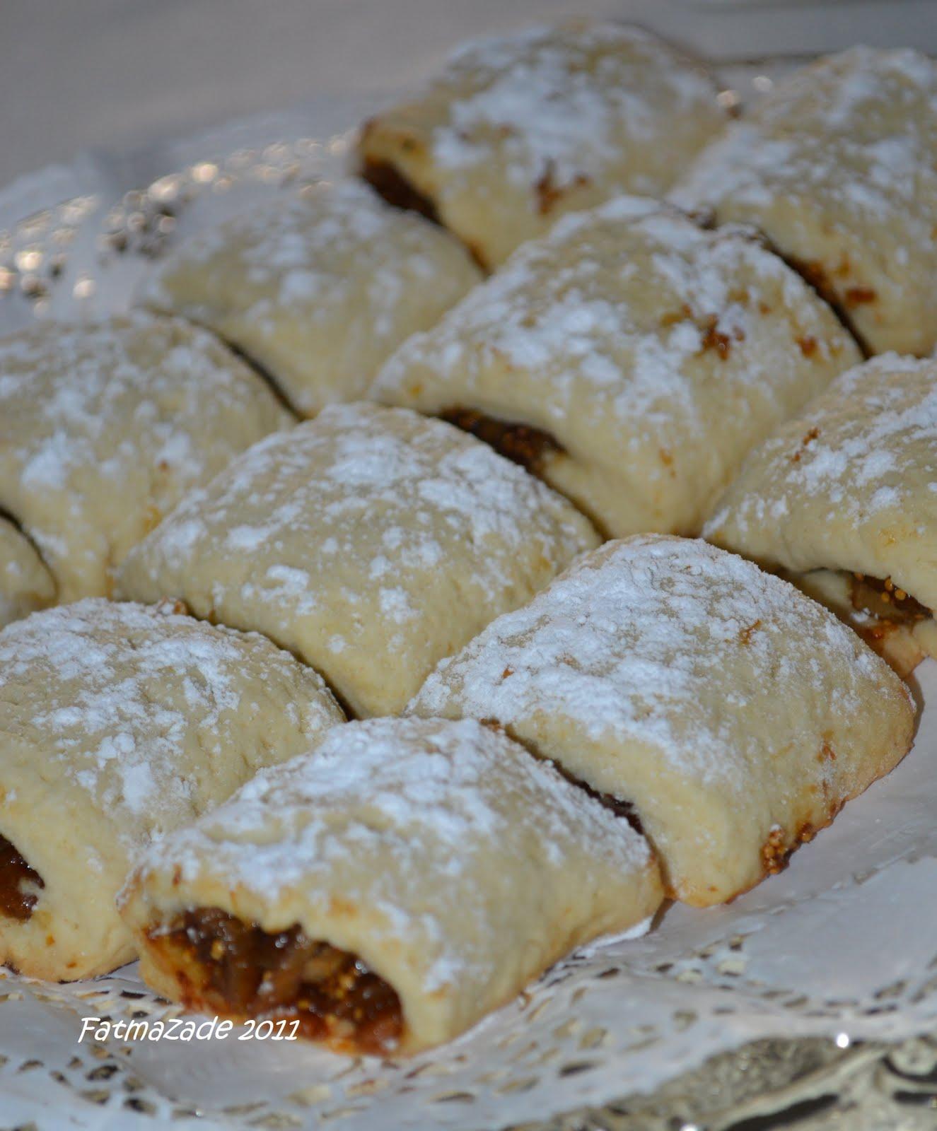 Kuru incirli kurabiye tarifi