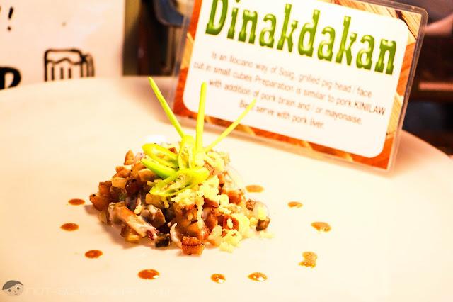 Amazing pork Dinakdakan of Chef Bab's Sizzling Sisig