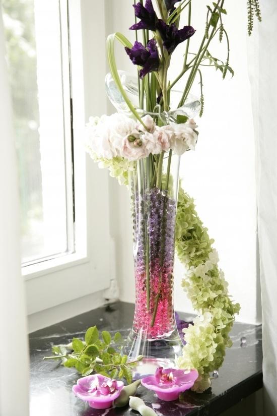 Floreros de vidrio para centros de mesa lodijoella for Centro de mesa de cristal