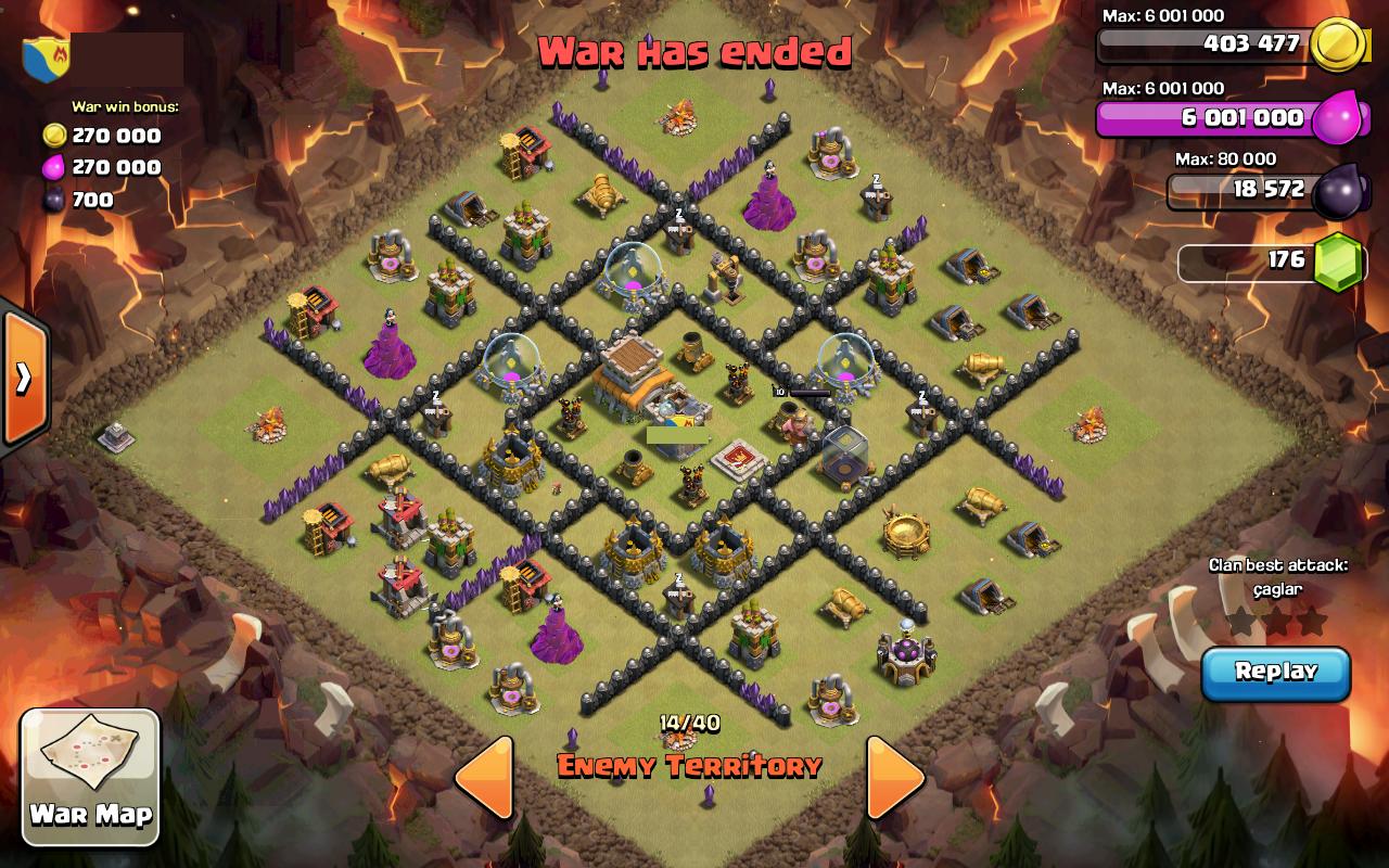 Galihghungs blog clash of clans town hall 8 war base quot anti dragon