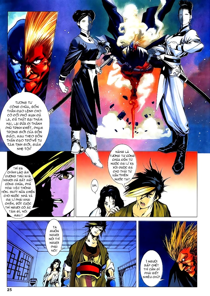 Lục Đạo Thiên Thư chap 4 - Trang 25
