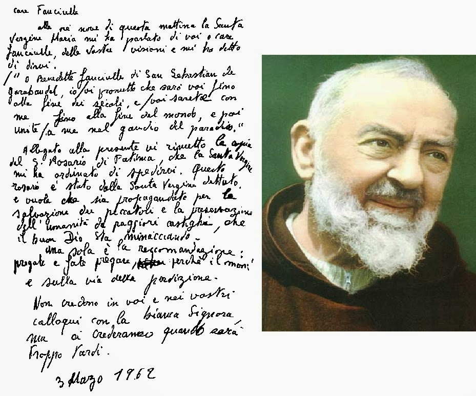 Padre Pio y Garabandal