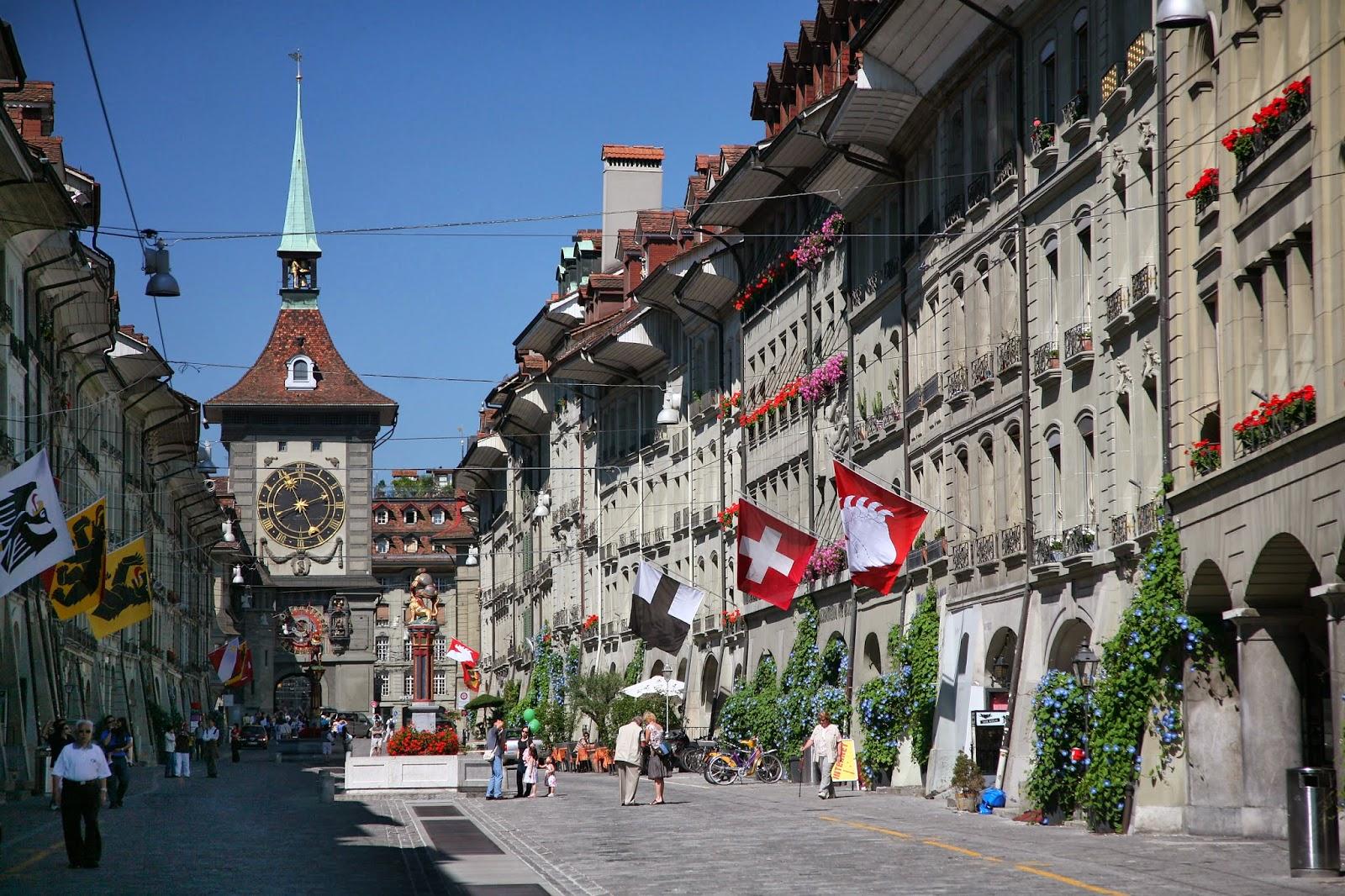 Visita Berna Suiza