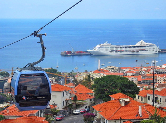 cable car Funchal