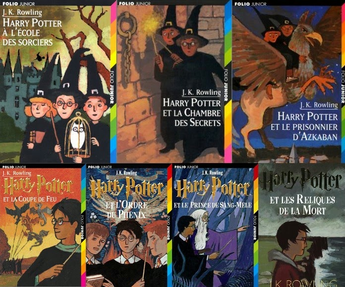 Harry Potter, Over-books
