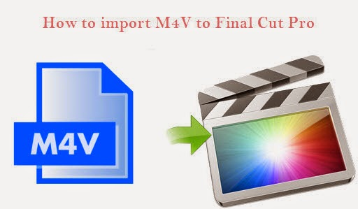 import m4v to fcp