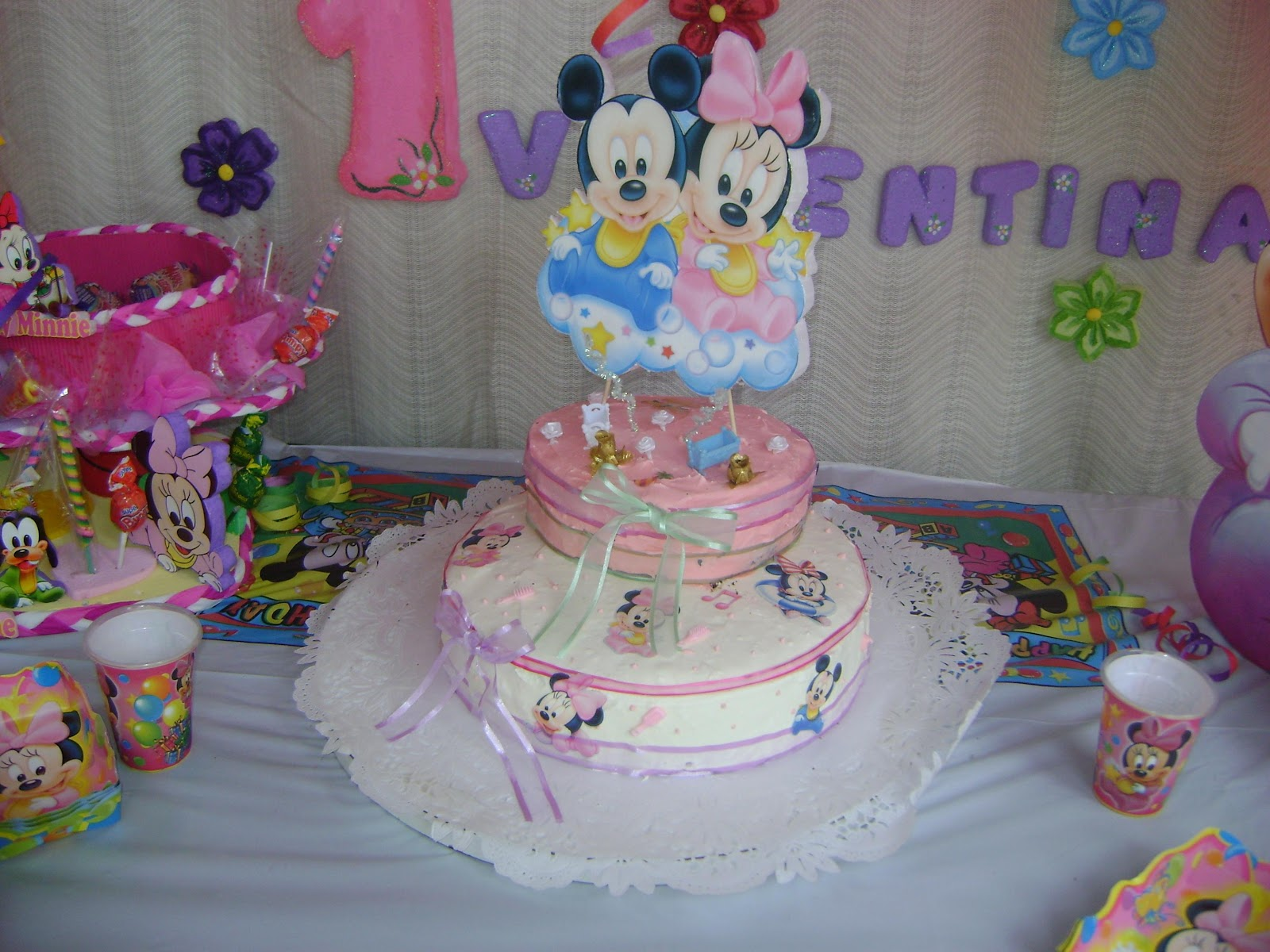 Decoraciones y manualidades yoryvan minnie baby decoraci n - Manualidades faciles decoracion ...