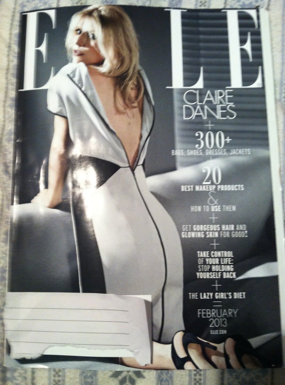 Fashion love by pam happy mlk day past first ladies for Elle magazine this month