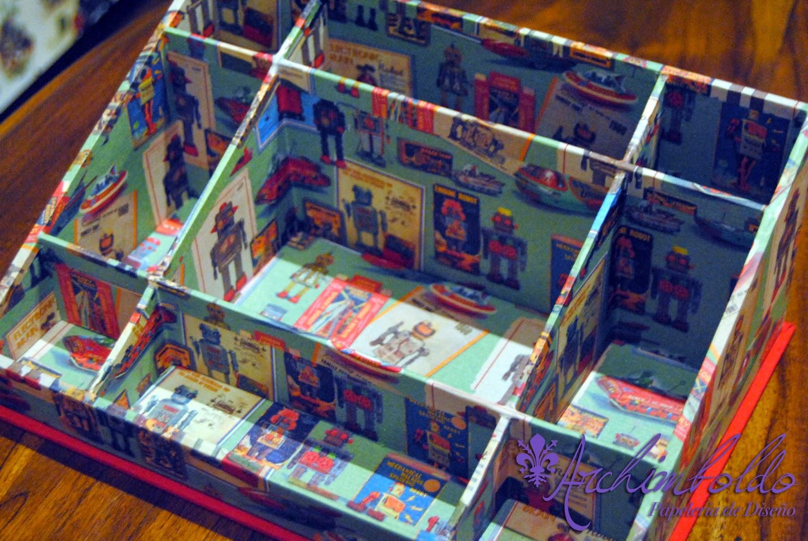 escritorio cartonage