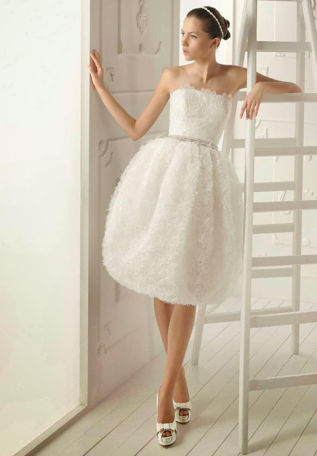 Short Casual Wedding Dresses Concept Design Photos HD