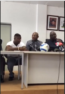 Stephen Keshi Signs New Contract, Appointed Super Eagles Coach AGAIN…See Photos