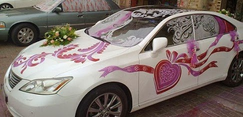 Wedding car decoration ideas in pakistan 2014 pakistani for Auto decoration in pakistan
