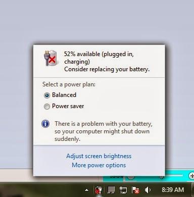 3 Cara Menghilangkan Tanda Silang Pada Icon Batery Laptop