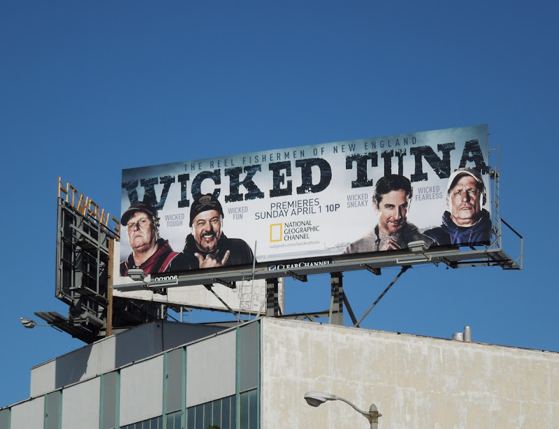 Wicked Tuna TV billboard